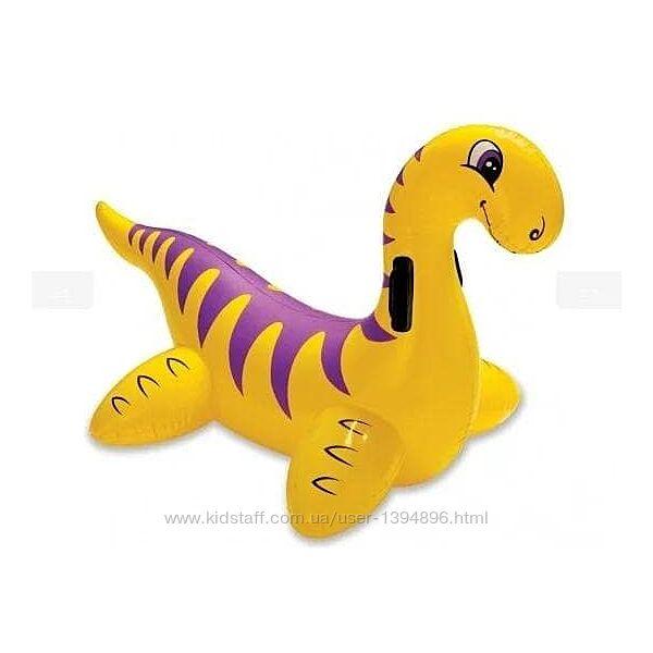 Детский надувной плотик Intex 56559 Динозавр, 121x65 см