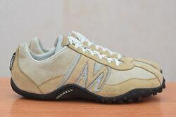 Женские кожаные кроссовки песочного цвета Merrell, 40 размер. Оригинал