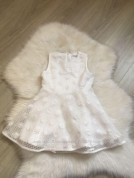 Нарядное белое платье Gaialuna на 2-3 года для девочки