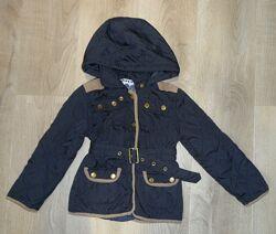 Стильная демисезонная курточка с латками