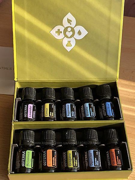 Семейный набор Домашняя аптечка чистые эфирные масла doTERRA США