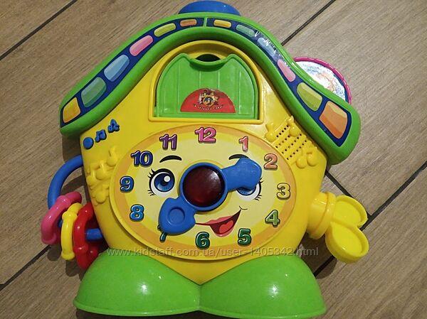 Игрушка развивающая Музыкальные часы У тетушки Совы
