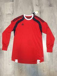 Мужская футболка с длинным рукавом реглан Adidas оригинал 50-52 размер