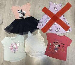 Комплект летней одежды платье  футболка майка