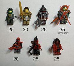 Фигурки Лего Нексо Найтс рыцари человечки Lego Nexo Knights наборы