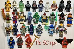 Лего фигурки человечки Ниндзяго пираты Чима Нексо найтс ниндзи полиция Lego