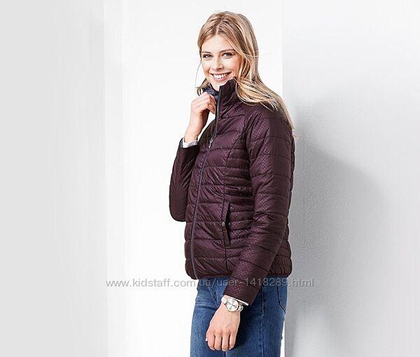 Стильная двухсторонняя стеганная куртка от Tchibo Германия, р. 40 евро