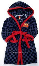 Фирменный махровый халат Cars р. 92