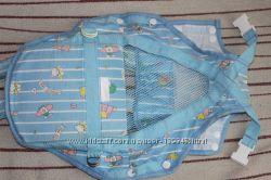 Облегченный рюкзак-кенгуру, отличный на лето и для дома, хлопок, сетка