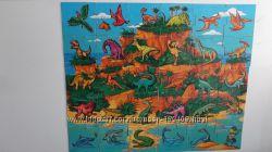Растишка магниты Остров динозавров . 24 шт