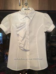 Блузка белая Sisley Benetton