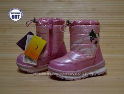 Зимние термо сапожки том м розовые глянцевые на овчине размеры 24, 27, 28