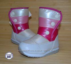 Зимние термо сапожки для девочки Tom. m размеры 27-32