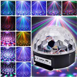 Диско-шар Колонка LED Magic Ball c bluetooth