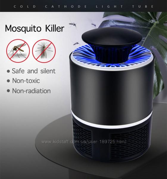 Светодиодная LED лампа против комаров и москитов