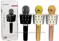 Караоке микрофон колонка Wster WS-1688 USB, FM, Bluetooth
