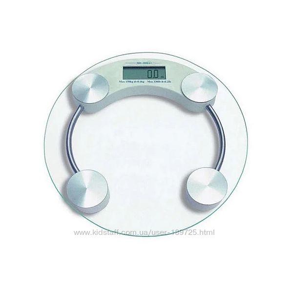 Электронные напольные весы до 150кг