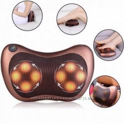 Массажная подушка для спины и шеи Massage pillow for home and car
