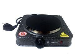 Электроплита Domotec MS-5821 1000Вт для дома и дачи, плита настольная