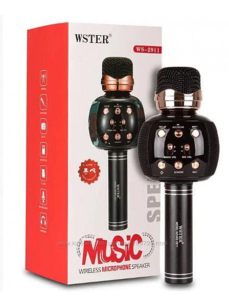 Беспроводной микрофон караоке WSTER WS 2911 в ультра-модном корпусе