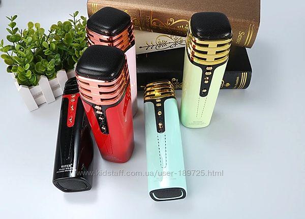 Беспроводной микрофон Wster WS-838 с изменением голоса и радио