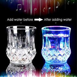 Стакан с подсветкой Inductive Color Cup LED стакан светится когда полный