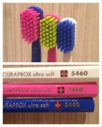 Curaprox зубная щетка, Швейцария. Паста без фтора для кормящих, детей
