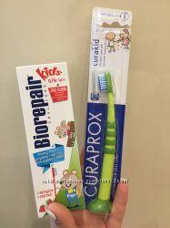 Набор для чистки зубов. Зубная щётка и зубная паста