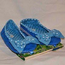 Мягкие тапочки для девочки