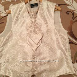 Свадебный жилет  галстук  Lorendi Capri XL Италия