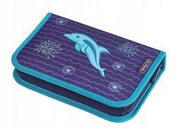 Пенал Herlitz Smart Delfin на 31 предмет