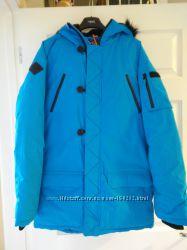 Куртки NEXT бирюза зимние термо от 5С до -25С  на мальчика 11, 12 лет