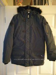 Куртки NEXT синие зимние термо от 5С до -25С  на мальчика 13-16 лет