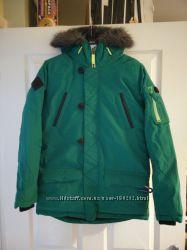 Куртки NEXT изумруд зимние термо от 5С до -25С  на мальчика 13-16 лет