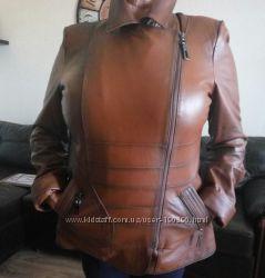 Турецкая кожаная  куртка. Хороший торг