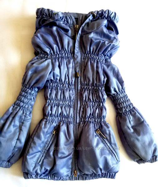 Тонкая курточка Newmark на девочку 4-6 лет