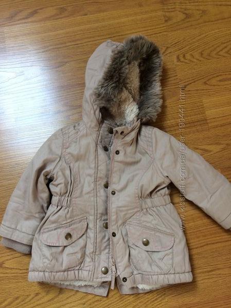 Куртка-парка 80-86 см Nutmeg