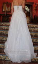 Очень Красивое нежное свадебное платье с Испании