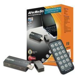 AVerTV HybridFM Volar  Компактный USB ТВ тюнер