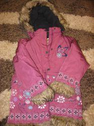 Зимняя куртка QUADRI FOGLIO 116см 5-6 лет