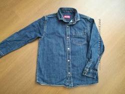 Джинсовая рубашка Next, 9 лет