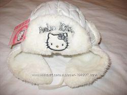 шапка  зимняя  на девочку 3-4 лет,  50-52 размер