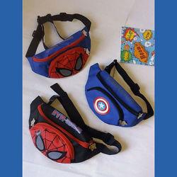 Бананки для мальчиков с принтом любимых героев Captain America, Spiderman