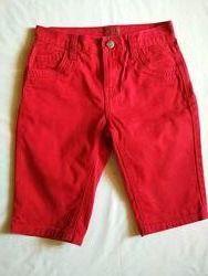 Фирменные шортики для мальчика 7-9 лет  H&M, Denim Slim, F&F
