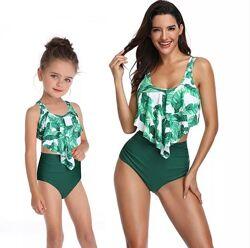 Купальники для мамы и дочки. Семейный стиль