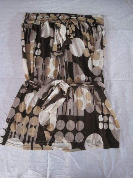 Фирменная блуза-бюстье Sinequanone, р. М 2