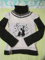 Фирменный шерсятной свитерок для девочки, р. 134-140 см.