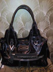 Женская чёрная сумка