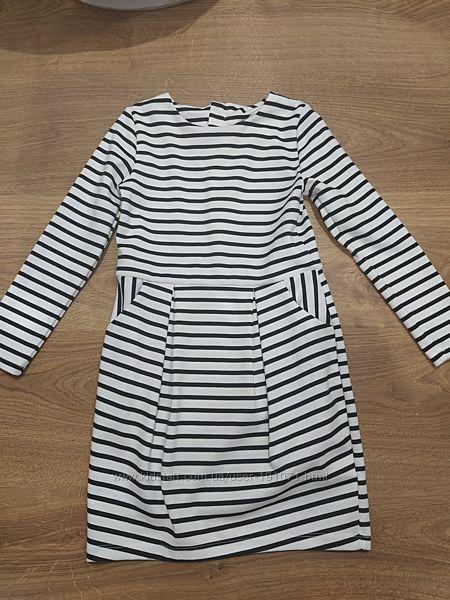 Нарядное платье в полоску H&M