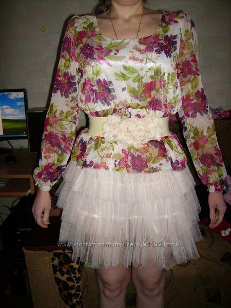 Новое гламурное платье